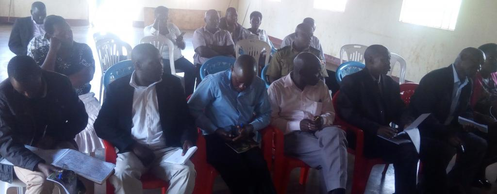 Review Of Kapchorwa District Contingency Plan At Community Hall